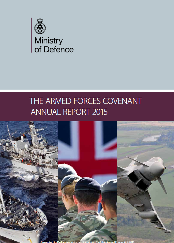 2015 Armed Forces Covenant Report