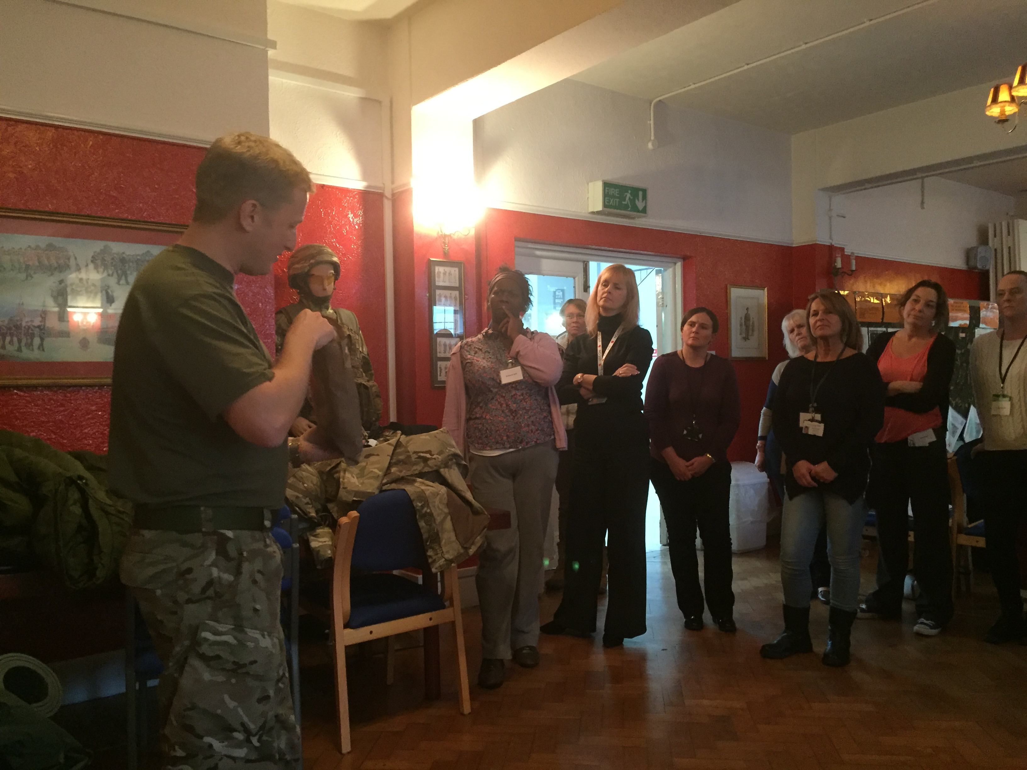 Sussex Armed Forces Network Champions Training Session